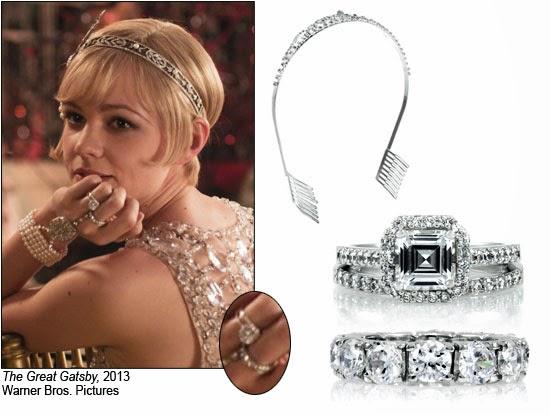Tiffany Daisy Ring Great Gatsby